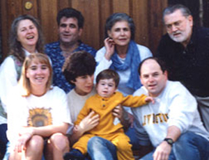 Dave and his family - recognize anyone?