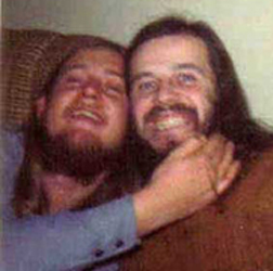 Jim & Pete foolin' around in the 70's