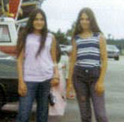 Shari and Jo stopped at South of the Border on their way to Florida when they were  just 14 and 15