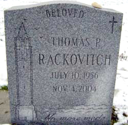 our friend Tommy Rackovitch